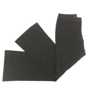 Express Editor Stretch Bootcut Pants Black Size 4